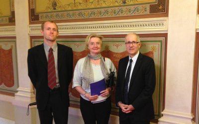 CEELI Institute meets with President of the Czech Supreme Court Judge Iva Brožová