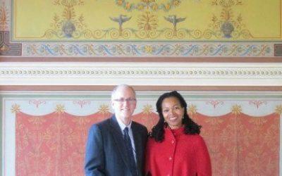 Ambassador Abercrombie-Winstanley Visits CEELI