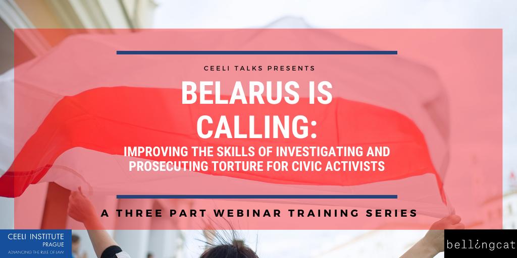 Belarus is Calling! A webinar training series