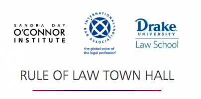 Democracy and Prosperity, Rule of Law Town Hall- PART TWO